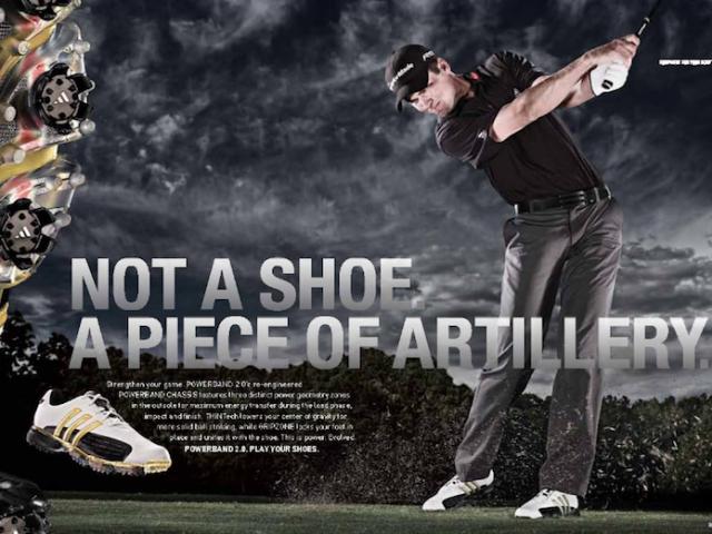 adidas Golf campaign